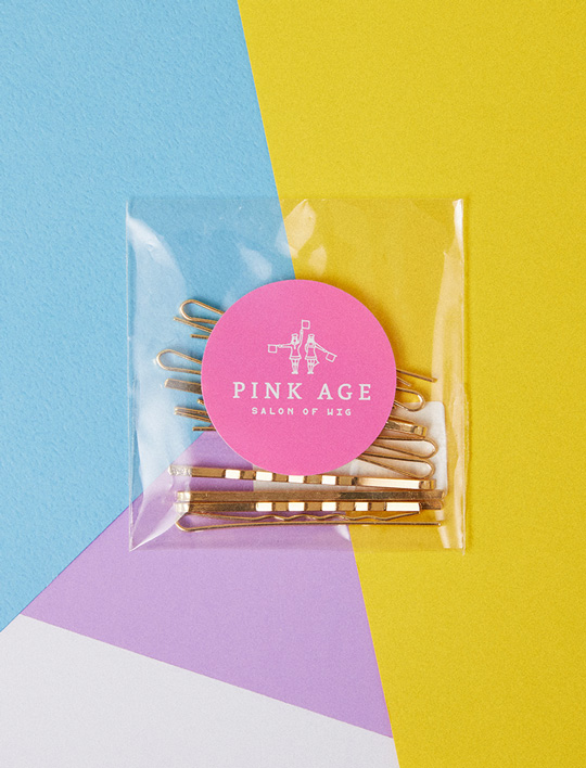 Pinkgoods) Gold Bobby pin (10 EA)