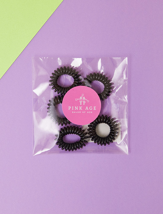 Pinkgoods) Hairtie (small) _5EA