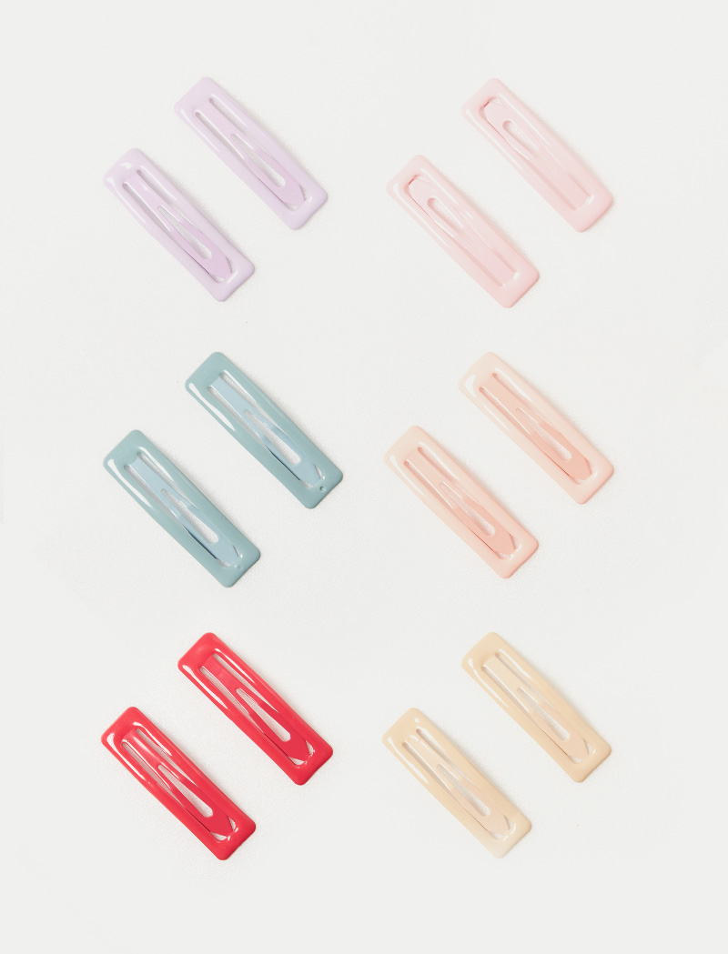 [Pinkgoods] Colorful Square Hairpin(2EA)
