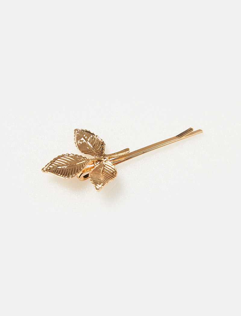 [Pinkgoods] Gold Leaf Hair pins